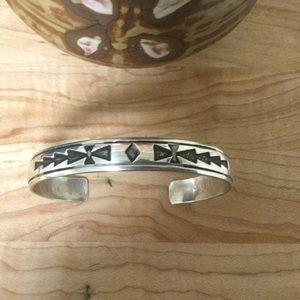 Jewelry - Tommy Singer Sterling Navajo Cuff Bracelet